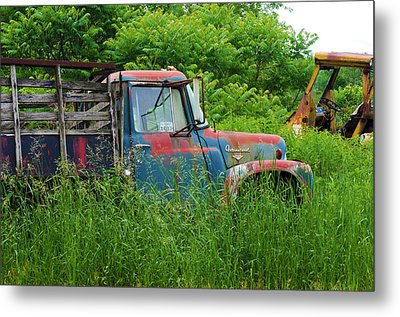 Truck Plant Metal Print by Kenneth Feliciano