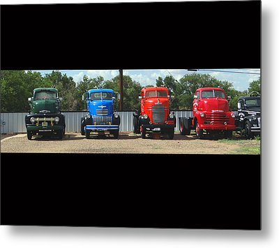 Truckin Metal Print by Tom DiFrancesca