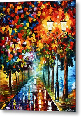 True Colors Metal Print by Leonid Afremov