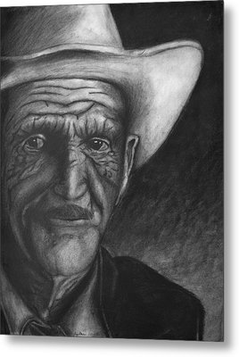 True Cowboy Metal Print by Jay Alldredge