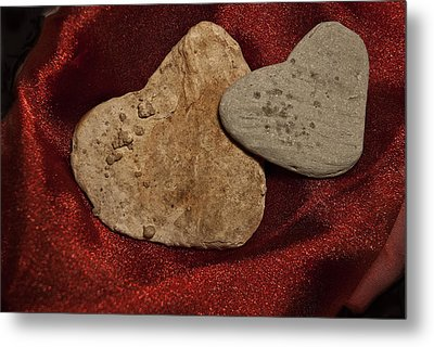 Metal Print featuring the photograph True Love Is Blind by Lena Wilhite