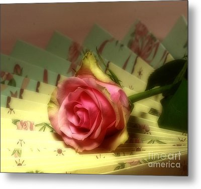 True Romance Metal Print by Inspired Nature Photography Fine Art Photography