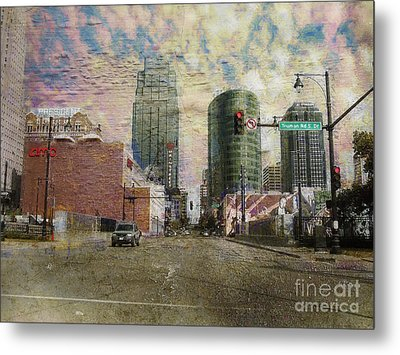 Metal Print featuring the photograph Truman Road Kansas City Missouri by Liane Wright