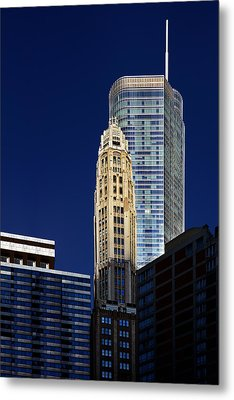 Trump International Hotel And Tower Chicago Metal Print by Christine Till