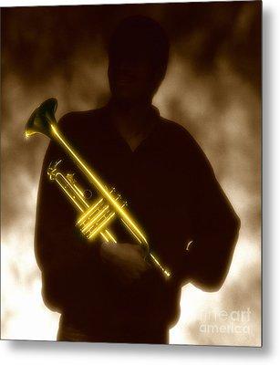 Trumpet 1 Metal Print