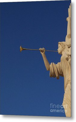Trumpeter  Metal Print by First Star Art