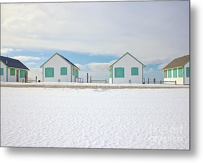 Truro Cottages Metal Print by Amazing Jules