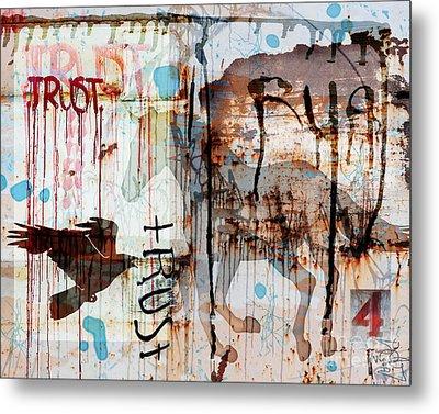 Trust Me Metal Print by Judy Wood