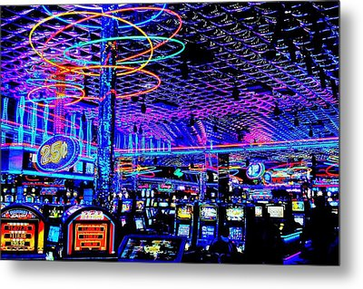 Try Your Luck Metal Print by Benjamin Yeager