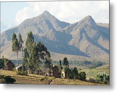 Tsaranoro Mountains Madagascar 1 Metal Print by Rudi Prott