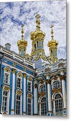 Tsarskoye Selo - The Tsars Village Metal Print by Jon Berghoff