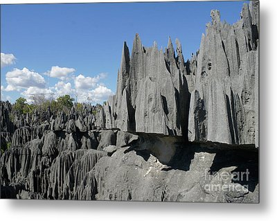 Tsingy De Bemaraha Madagascar 2 Metal Print by Rudi Prott