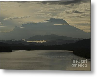 Metal Print featuring the photograph Tuaran River by Gary Bridger