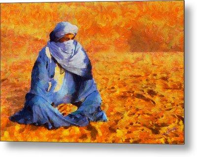 Tuareg 2 L.e. Metal Print by George Rossidis