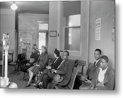 Tuberculosis Patients Metal Print by Library Of Congress