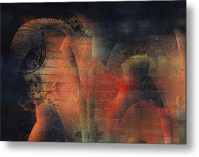 Tubulence - S03ac01 Metal Print by Variance Collections