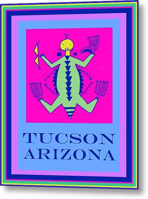 Tucson Arizona Shaman Metal Print