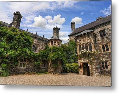 Tudor Castle Metal Print by Ian Mitchell