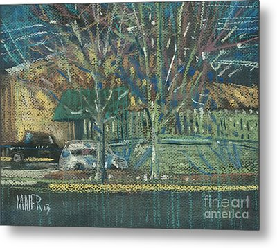 Tuesday Shopping Metal Print by Donald Maier