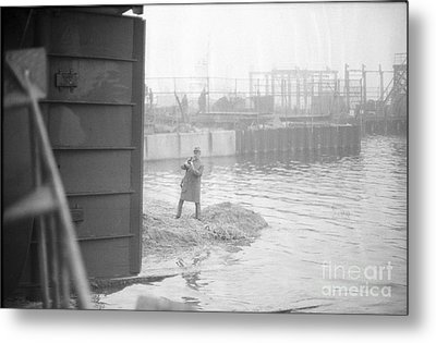 Metal Print featuring the photograph Tug Boat by Steven Macanka