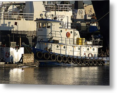 Metal Print featuring the photograph Tug by Erin Kohlenberg
