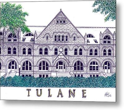 Tulane Metal Print by Frederic Kohli