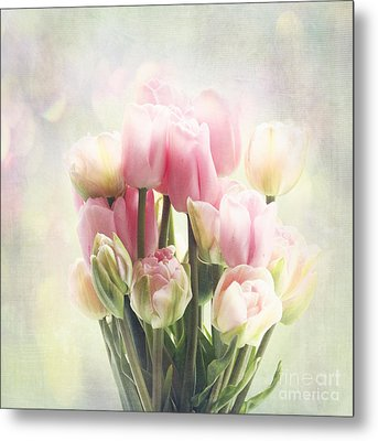 Tulip Bouquet Metal Print by Sylvia Cook