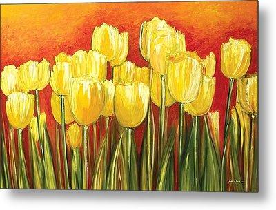 Tulips Metal Print by Ahmed Amir