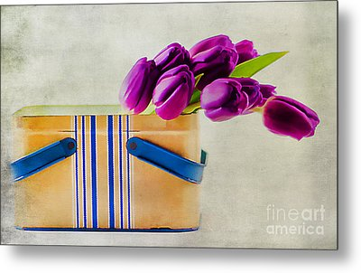 Tulips For Mom Metal Print by Darren Fisher