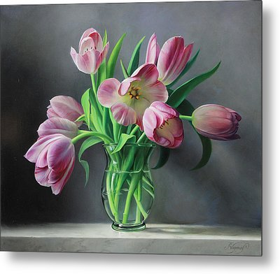 Tullips From Holland Metal Print by Pieter Wagemans