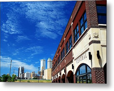 Tulsa Oklahoma From Central Park Metal Print