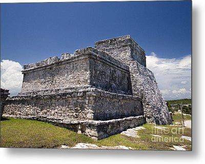 Tulum Mayan Ruins 13 Metal Print by Mark Baker