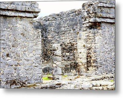 Tulum Ruins 1 Metal Print