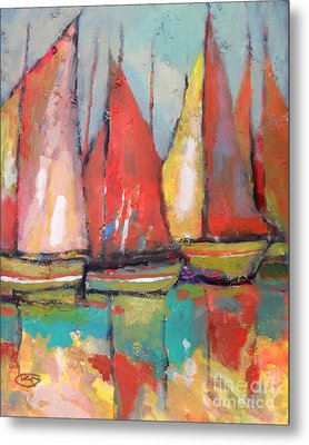 Tuna Boats Metal Print