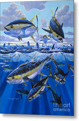 Tuna Rampage Off0018 Metal Print