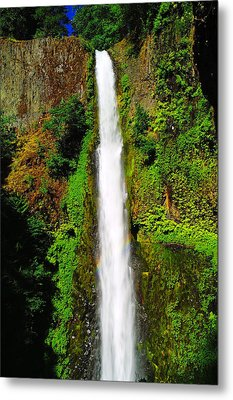 Tunnel Falls   Metal Print by Jeff Swan