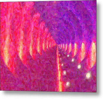 Tunnel Vision Metal Print by Kenny Francis
