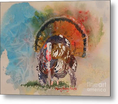 Turkey Time Metal Print