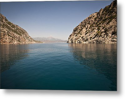 Metal Print featuring the photograph Turkish Bay by David Isaacson
