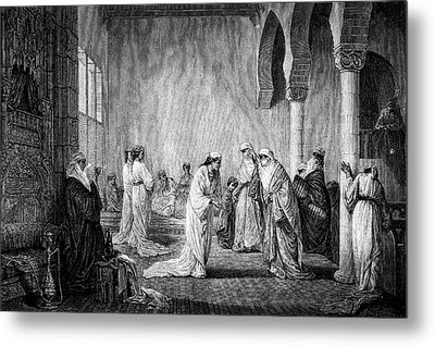 Turkish Harem Metal Print by Collection Abecasis