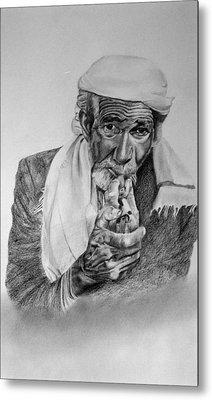 Turkish Smoker 2 Metal Print