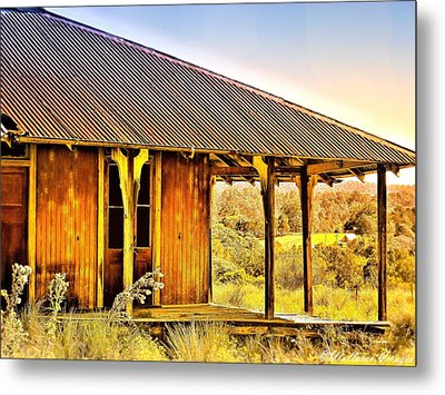 Metal Print featuring the photograph Turn Back Time by Wallaroo Images