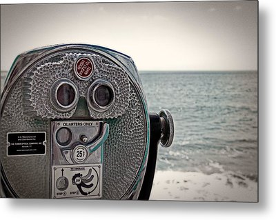 Turn To Clear The Ocean Metal Print by Tom Gari Gallery-Three-Photography