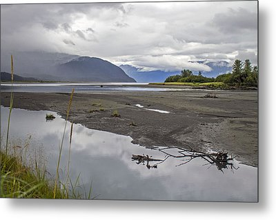 Turnagain Arm Clouds Metal Print by Saya Studios