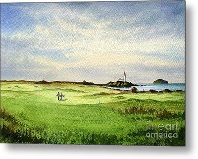 Turnberry Golf Course Scotland 12th Tee Metal Print