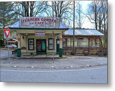 Turners Corner Metal Print by Bob Jackson