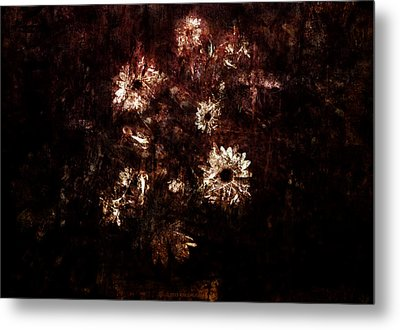 Turner's Flowers Metal Print by Kim Gauge