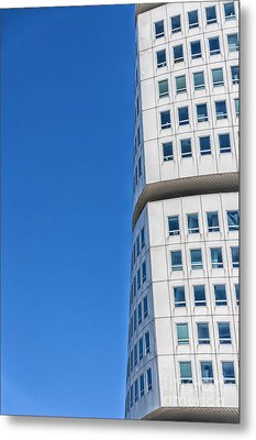 Turning Torso Skyscraper Metal Print by Antony McAulay
