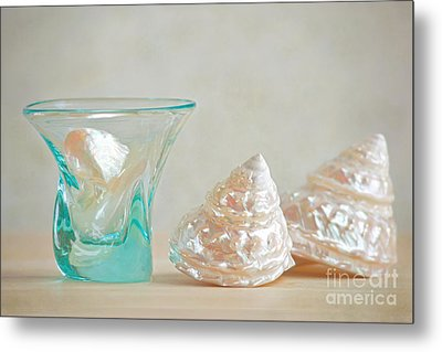 Metal Print featuring the photograph Turquoise Tumbler by Aiolos Greek Collections