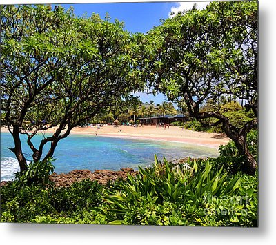 Metal Print featuring the photograph Turtle Bay Beach by Kristine Merc